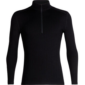 Icebreaker M's 260 Tech LS Half Zip Shirt Black